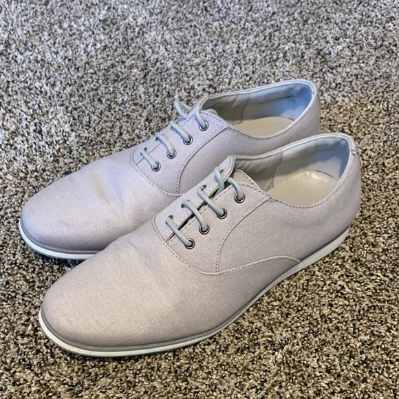 Zara Shoes   Men Light Grey Dress Size